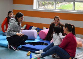 Taller bebé mamá first steps Colegio Villa Caritas