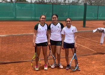 Campeonas ADECOPA Tenis en Colegio Villa Caritas