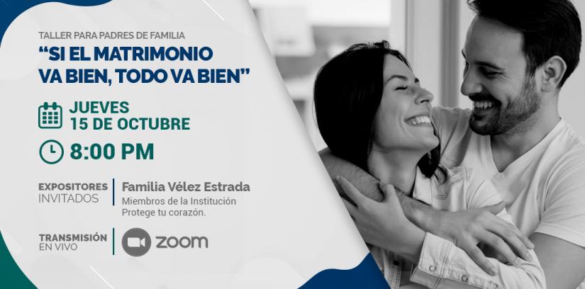Charla VCSP - Familia Vélez Estrada -agenda web