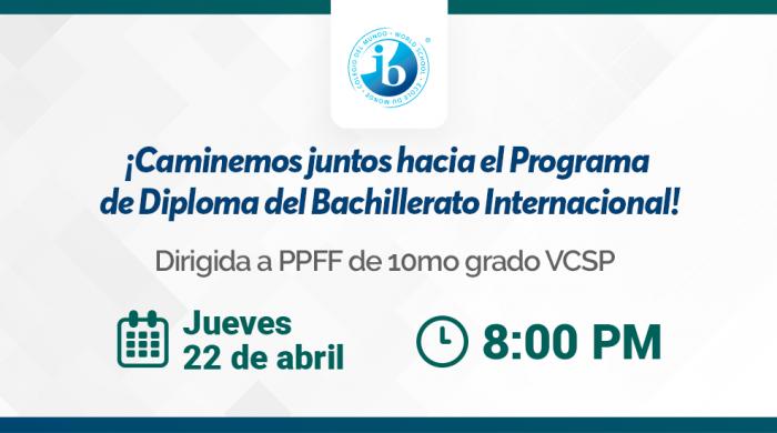 Charla VCSP IB - Colegios Villa Caritas y San Pedro